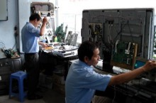 Sửa chữa tivi các loại tận nơi tại Hà Nội