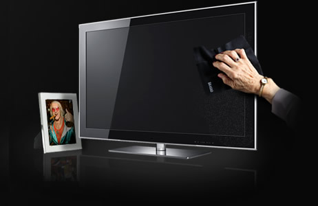 tránh để màn hình tivi LED, LCD va chạm với vật cứng