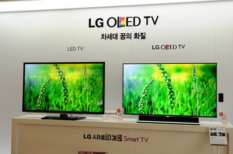 Tivi OLED 4K của LG trình làng trong năm 2013-1