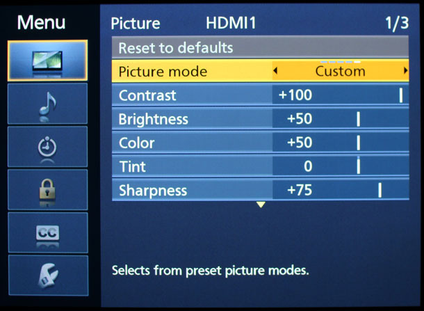 Hướng dẫn cài đặt tivi cho chất lượng ảnh tốt3