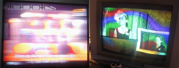 Tự sửa tivi CRT mất màu